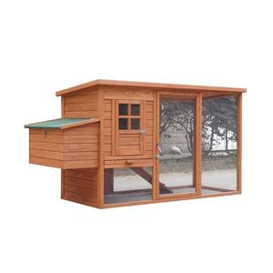 wooden chicken feeder coop chicken farm building