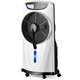 12inch Rechargeable battery emergency water air cooler fan with light