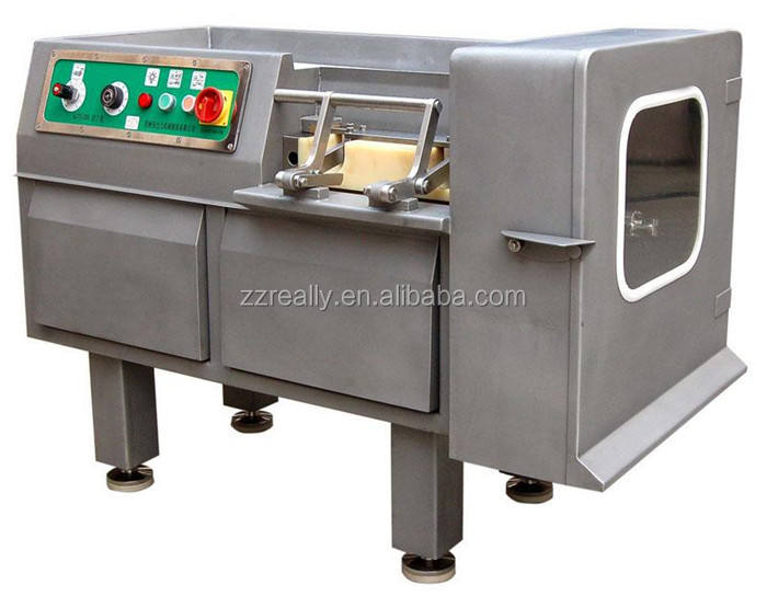 OEM Commercial Meat Cutting Dicer Machine Automatic Stainless Steel Poultry Cube Making Processing Machinery for Sale