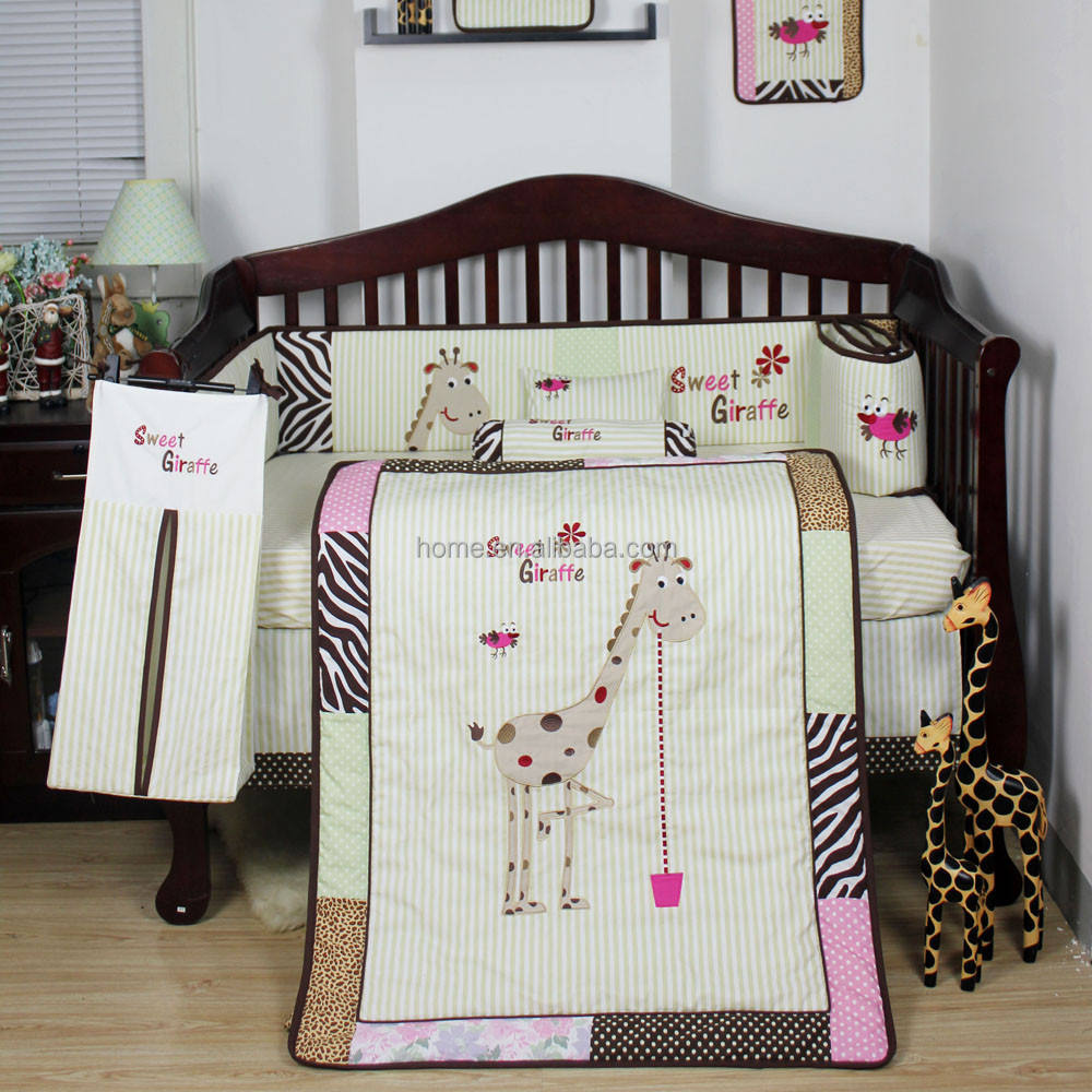 Pretty Giraffe Baby Bedding Sets Fantastic Bed Linen
