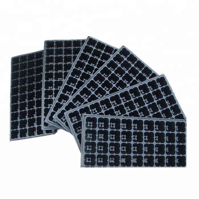 Wholesale 98 72 50 holes Plastic nursery seedling tray for plant
