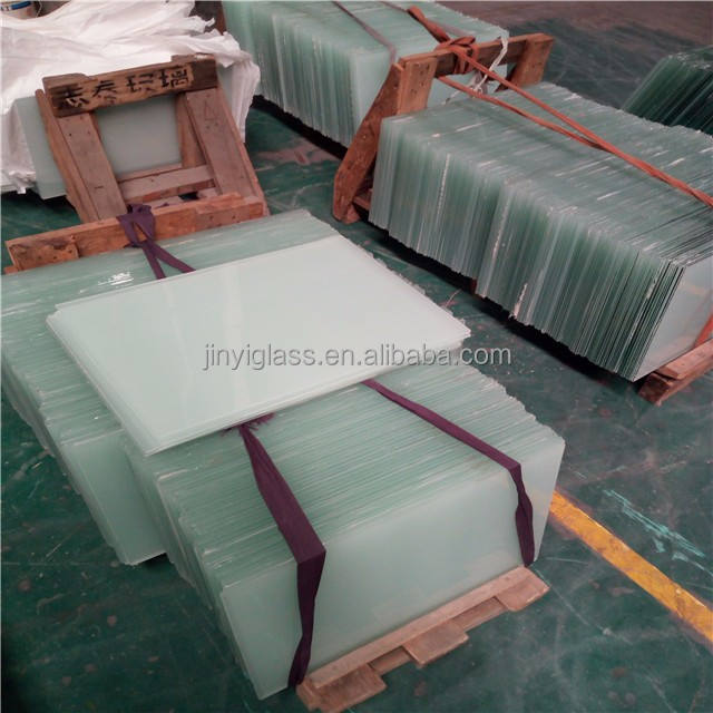 Clear / Mike white laminated glass tempered glass weight wholesales