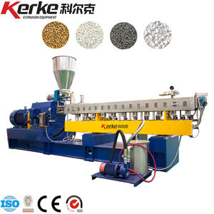 Twin Screw Extruder Machine ABS PC PPS Pelletizing Granulating Production Line