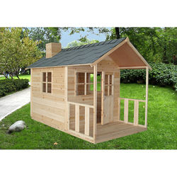 Ready made log cubby house wooden,mini wooden house,wooden house russia