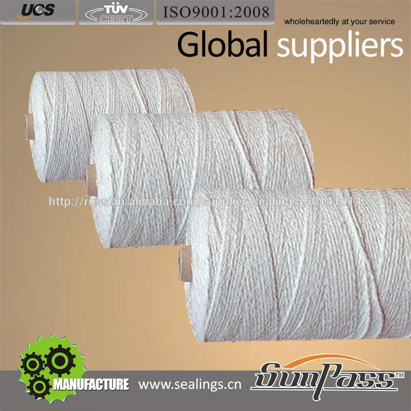 Пряжа керамического волокна при усиленный провод нержавеющей стали