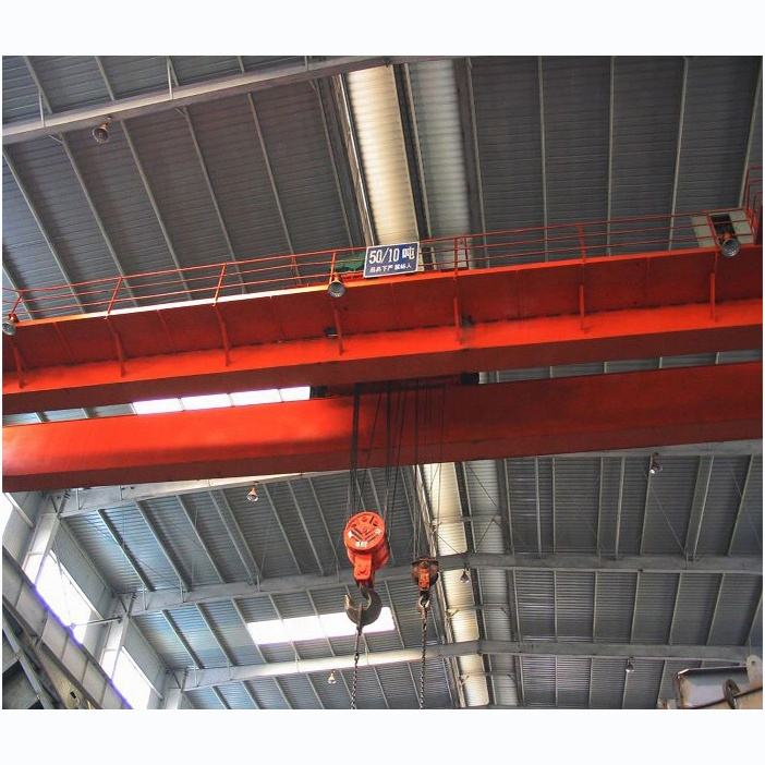 Workshop gebruik dubbele ligger overhead crane lifting apparaten