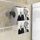 Novelty Design Custom Printed Toilet Paper donald trump toilet paper roll