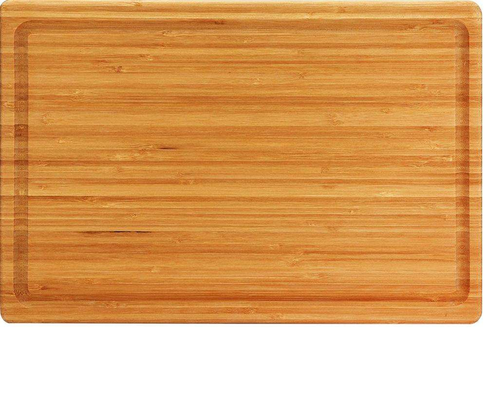 Thick large bamboo wood cutting board