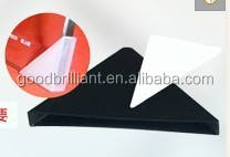 Plastic corner protectors for protecting glass 3mm  4mm  5mm  6mm  8mm  10mm  12mm