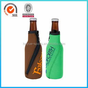 Manga de neopreno enfriador de botellas de cerveza