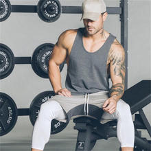 Mens Blank Dry Fit Sleeveless Fitted Cotton Wholesale T shirt
