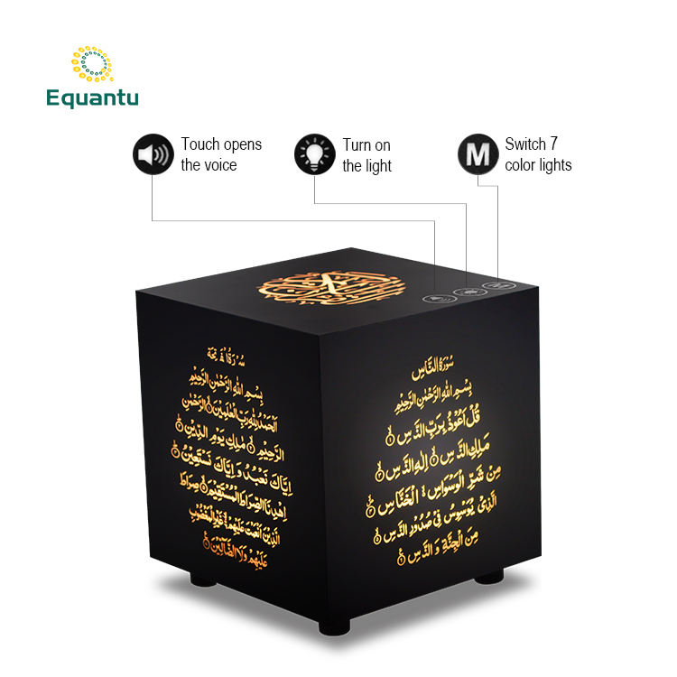 Hot selling Draagbare Touch lamp led Licht draadloze koran speaker