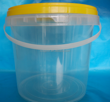 clear plastic buckets with lid