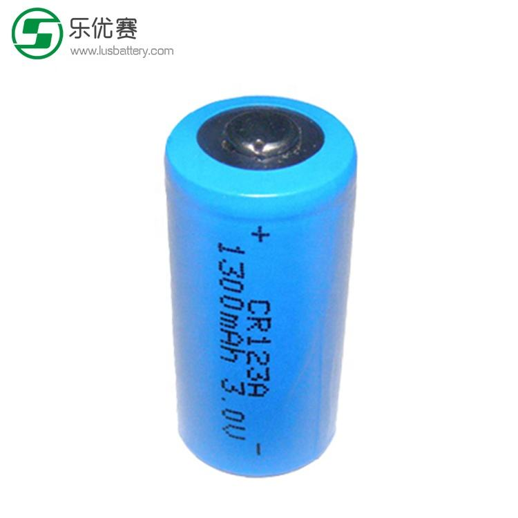 CR123A LiMnO2 Battery 3.0V 1500mah primary lithium battery CR123 A