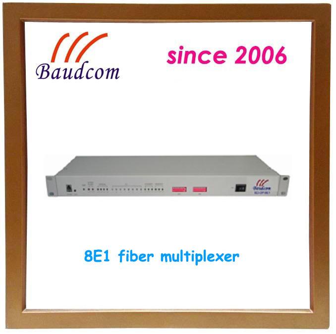 Китай Baudcom 8E1 Ethernet для оптического мультиплексирования