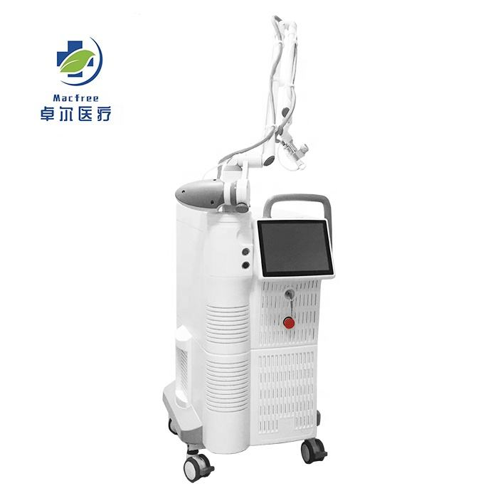 2019 Top Quality RF Fractional CO2 Ultrapulse Wrinkles, Skin Tightening Acne Scar removal medical laser treatment equipment.