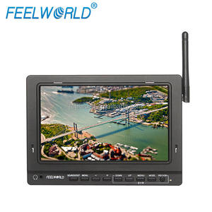 FEELWORLD 7 pollice 32 CH costruito in 5.8 GHz wireless ricevi monitor digital video trasmettitore fpv