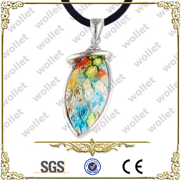 birthday gift murano glass millefiori pendants
