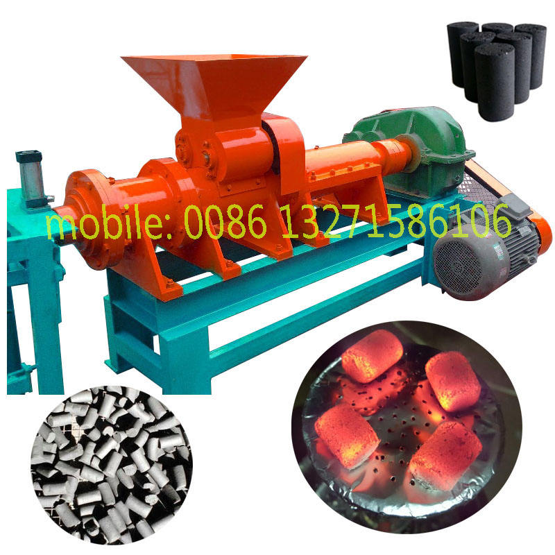 Safe and efficient coal powder briquetting machine