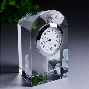 Bestselling laser engraving teddt bear crystal prayer time digital clock door gift for sale