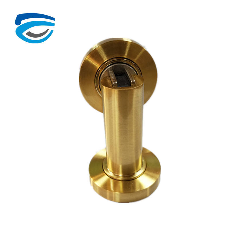 Decorative Door Draft PVD Color Zinc Alloy Magnet door Stopper