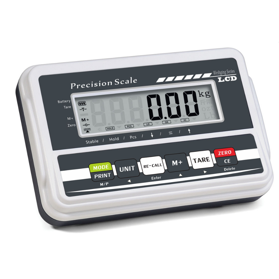 Large LCD Display Weighing Counting Indicator With RS232
