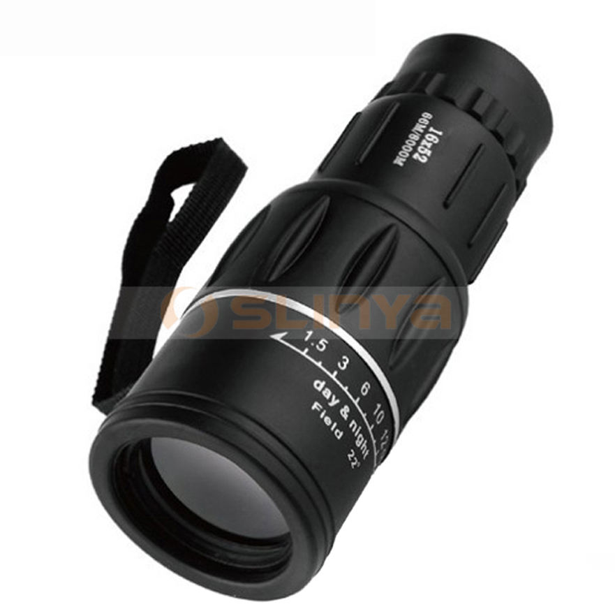16X52 HD Night Travel Monocular Outdoor Camping Telescope