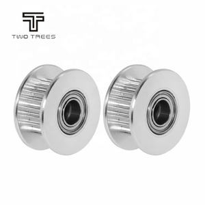 Width 6mm /10mm GT2 16 20 with Teeth and 16 20 without teeth Bore 3mm/4mm/5mm/8mm Timing Aluminum Pulley