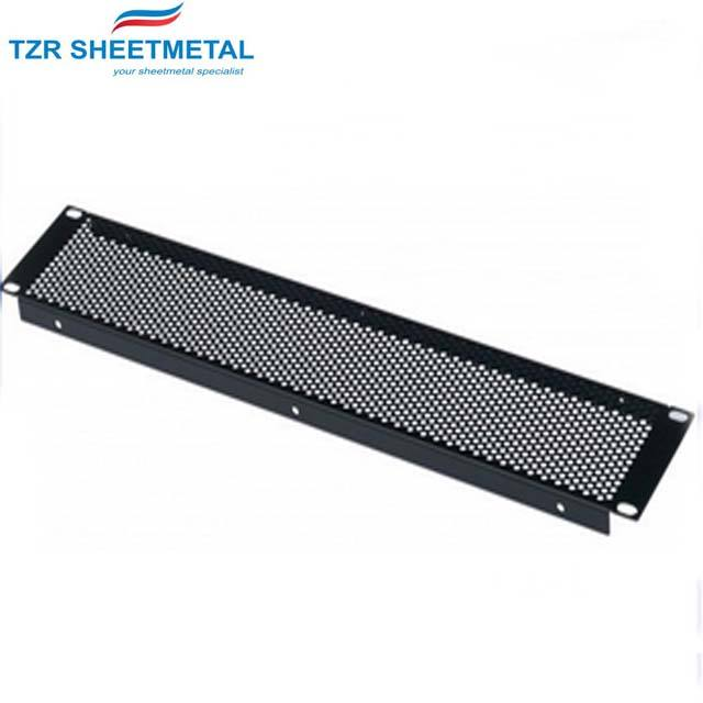 Rohs [ Panel ] Rack Blank Panel Vented Perforated Blanking 1U 2U 19 Inch Rack Panel