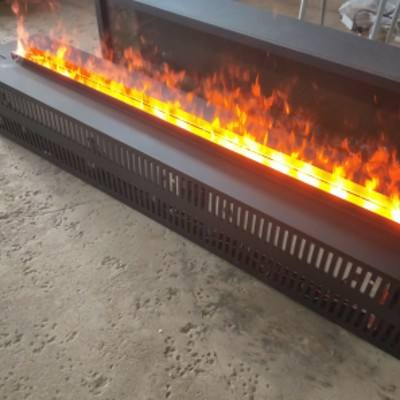 1000mm long water vapor /water steam /Atomizing 3d fireplace