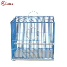 29x22x26.5cm Wire Painted Welded Quadrated Small Bird Cage For Quail Wholesales Gaiola Para Aves Portable Parrot Carrier Cages