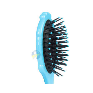 F j Brand Wholesale Snow Princess Kids Cartoon Massage Natural Custom Hair Comb Baby Hair Brush Comb Set