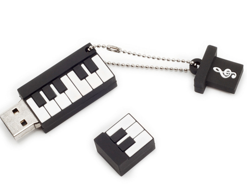 Unik Desain USB 2.0 8 GB Piano Piano USB Flash Drive