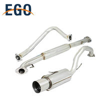 Professional Tig Welded Cat Back Exhaust System