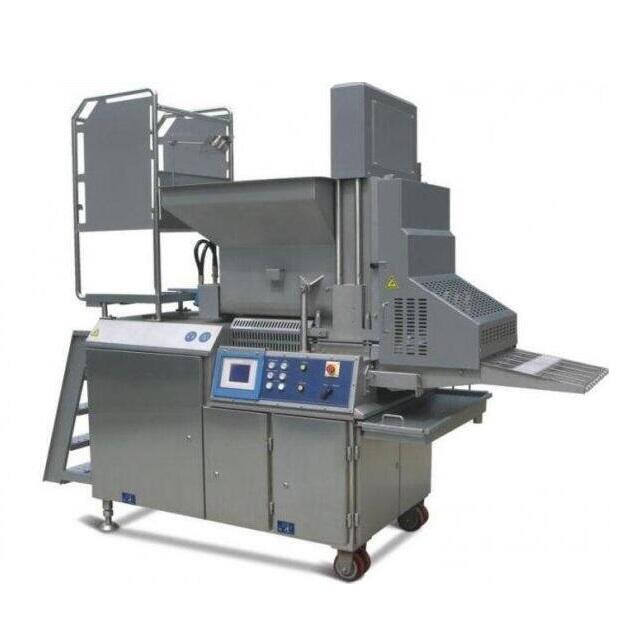 Hot sales instant burger former equipment machine
