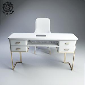 2019 neue design schönheit maniküre tisch salon möbel nagel tisch mit  auspuff fan