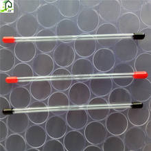 Diameter 5-43mm Clear Plastic Pvc IC Packaging Tubes