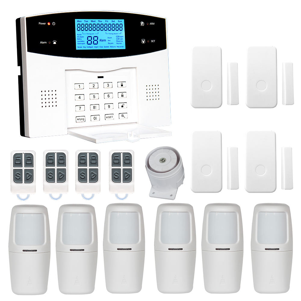 2021 NEW Anti-theft Alarma Burglar Wifi+GSM+PSTN Mobile Call Alarm System Motion Light Sensor