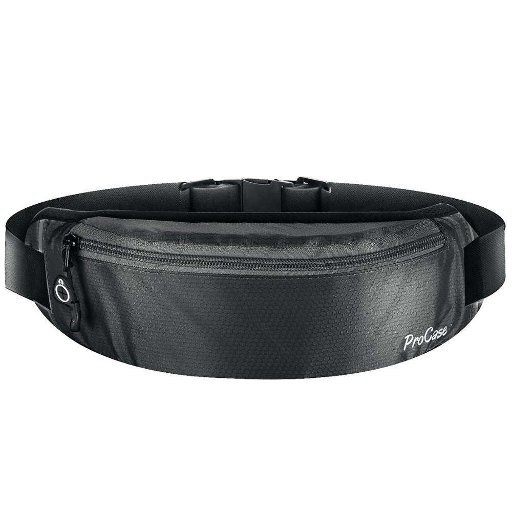 sports runner waist bag pouch adjustable fanny pack for most phone sweatproof workout waist bag