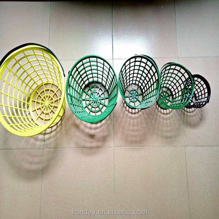 Lightweight Range Ball Basket, Plastic Golf Ball Bucket, Plastic baskets