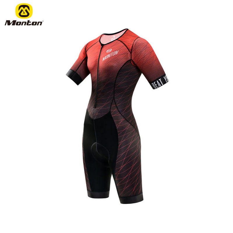 Team Sublimation Printing Cycling Skin suit Bicycle Speed Suit Cycling Triathlon