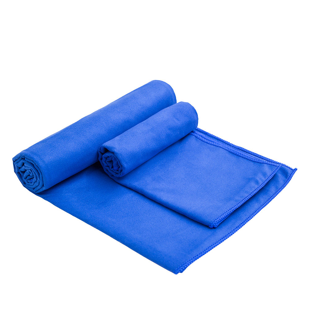 Microfiber suede compact travel camping gym towel