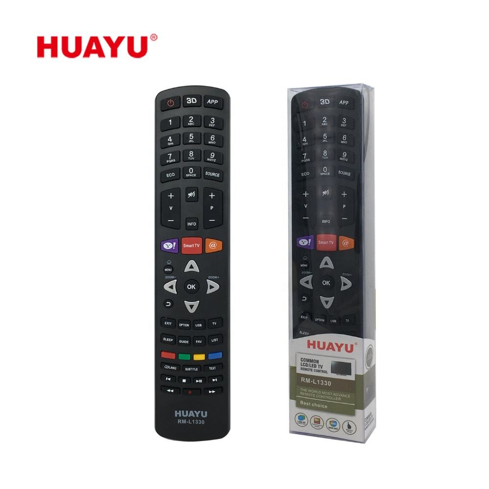 Fixed Code [ Tv China ] Tv Remote Control Tv SYSTO HUAYU RM-L1330 CODE REMOTE TV CHINA TV REMOTE CONTROL