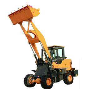 1 ตัน mini ล้อ loader loader mechanical loadering