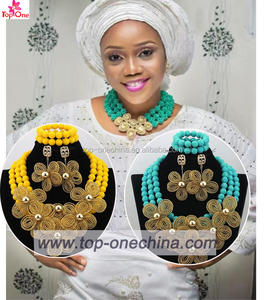 African jewelry set wedding beads jewelry african traditional bridal beads jewelry