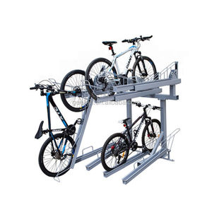 Floor Mount Bicycle Rack for 4/6/8/10/12 Bikes Stand Double Bicycle Holder Storage Rack Garage Outdoors
