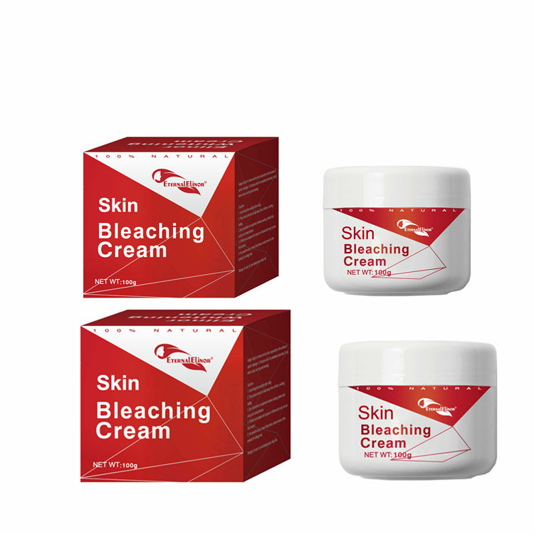 Female Gender and Body Use African dark skin strong bleaching whitening cream beauty care