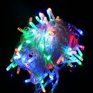 10M RGB LED String Light Christmas Lights Indoor Outdoor Xmas Tree Decoration 100 LEDs Waterproof Holiday Garland Fairy Lights