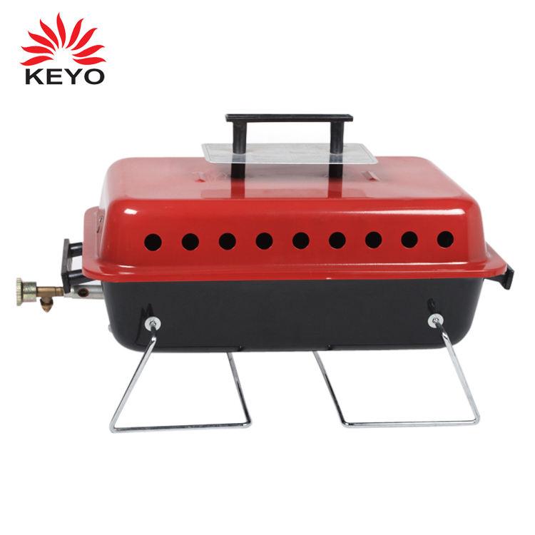 KEYO CSA professionale senza fumo attrezzature di campeggio di picnic barbecue portatile barbecue grill a gas