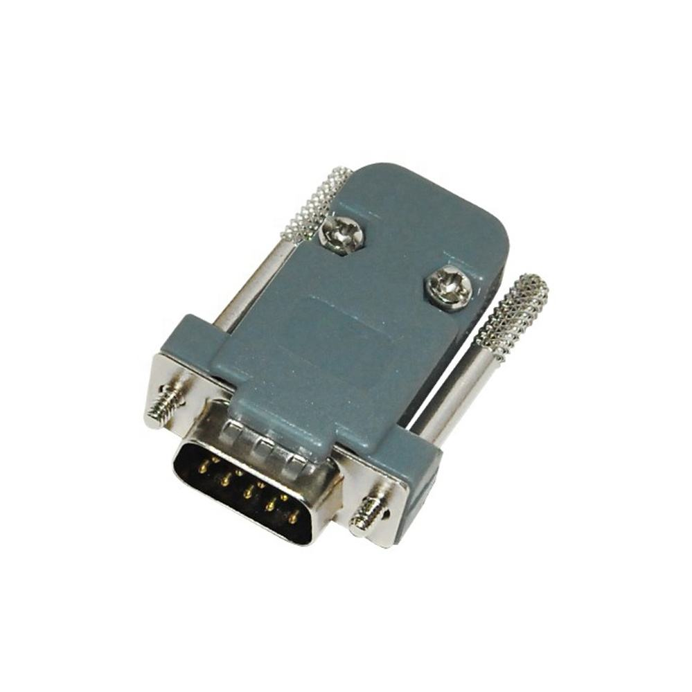 Impermeable IP67 d-sub 9pin hembra RS232 conector
